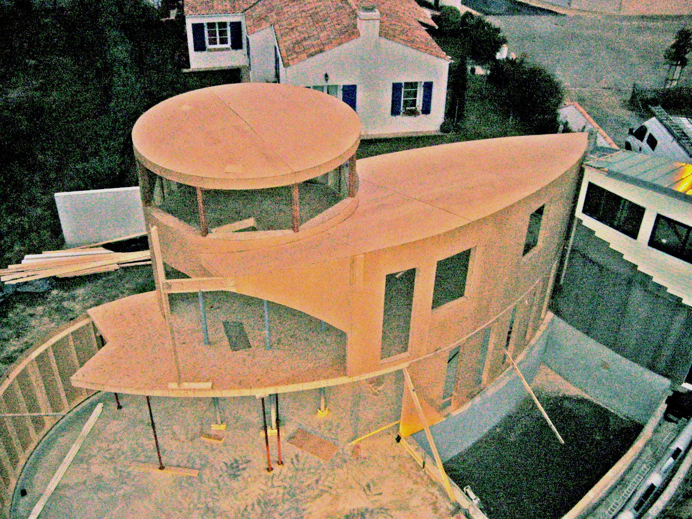 Maison Bois Vend E Argos Architecture Maison Organique