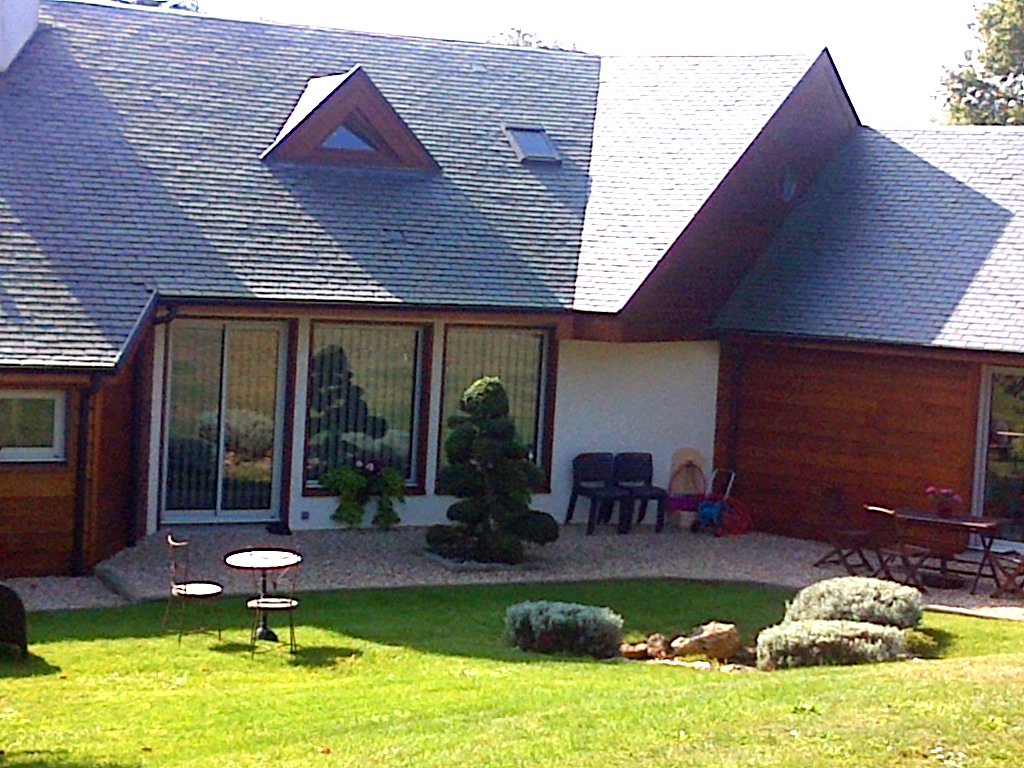 Maison bois architecte architecture maison organique - Architecte maison bois ...