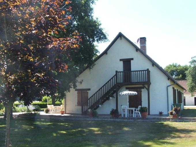 Extension en Sologne - La maison existante