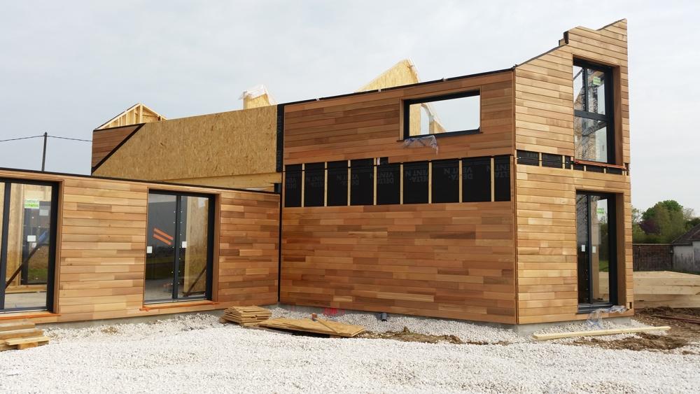Maison architecte art trait dsign