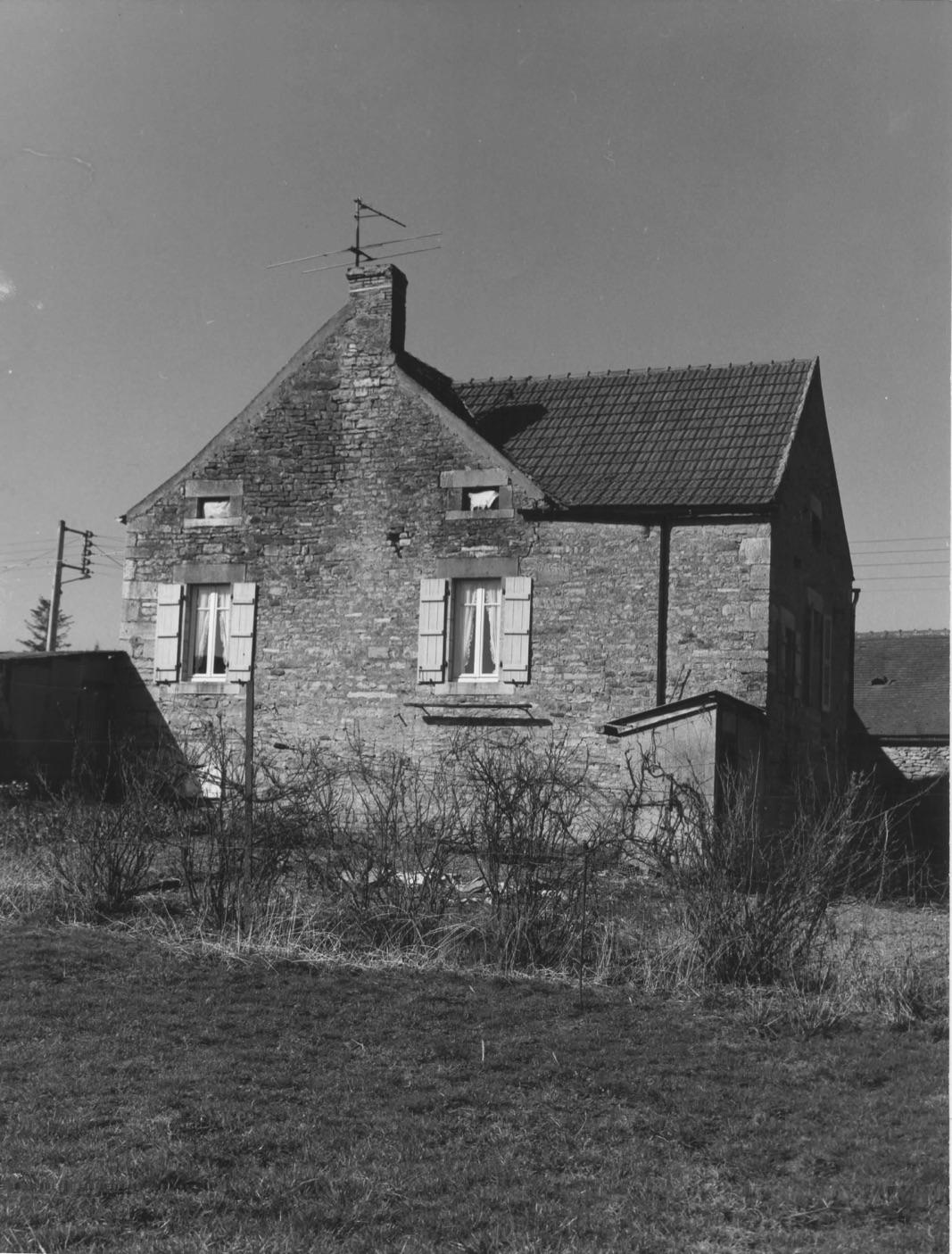 La maison de maître avant l'extension