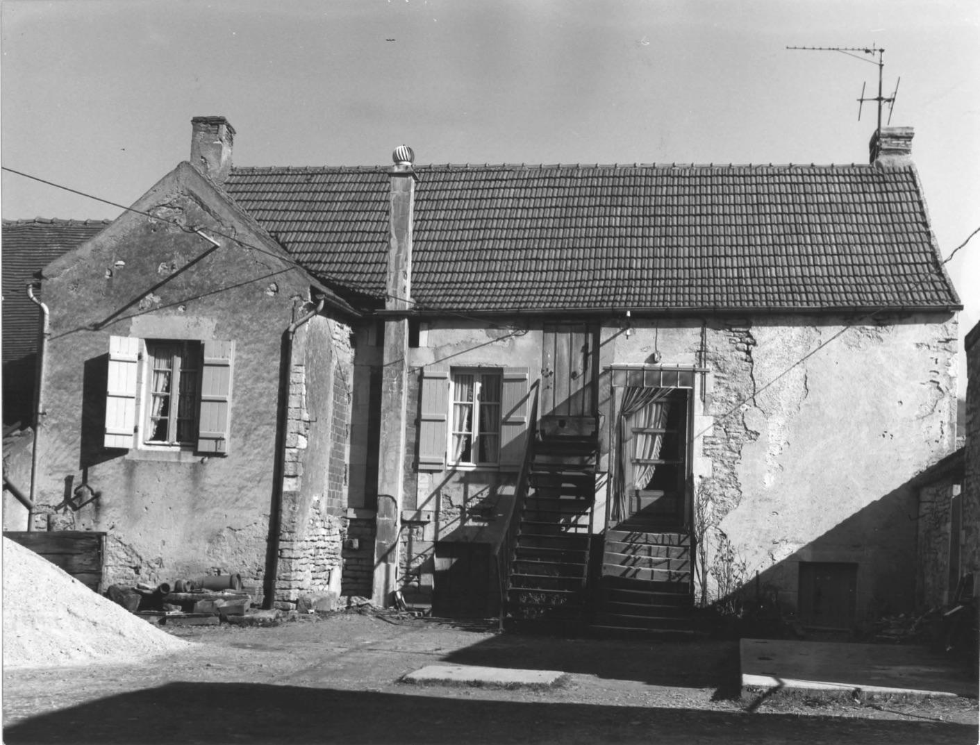 La maison de Maître avant l'extension - vue ouest